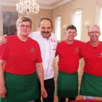 Johann Lafer und das Team der Bäckerei Lunkemheimer