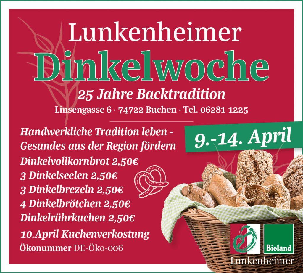 Anzeige Jubiläum Lunkenheimer